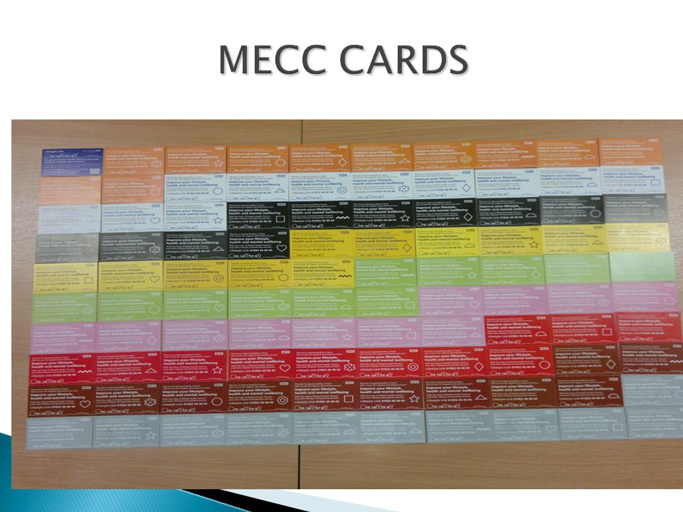 MECC CARDS