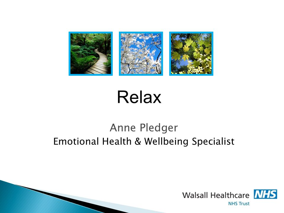 Anne Pledger Emotional Health & Wellbeing Specialist