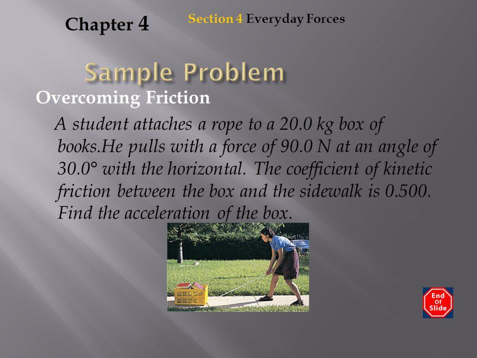 Sample Problem Chapter 4
