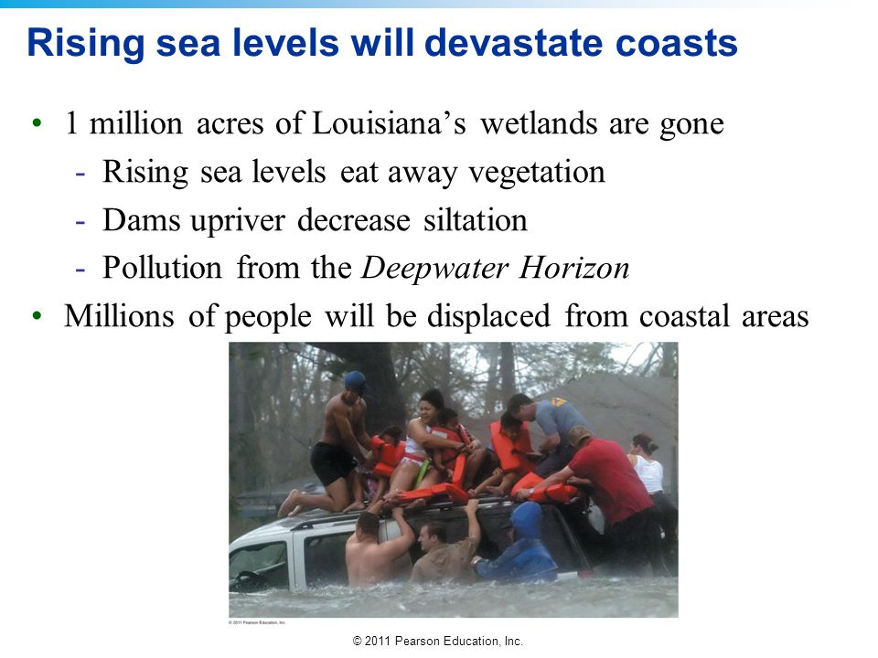 Rising sea levels will devastate coasts