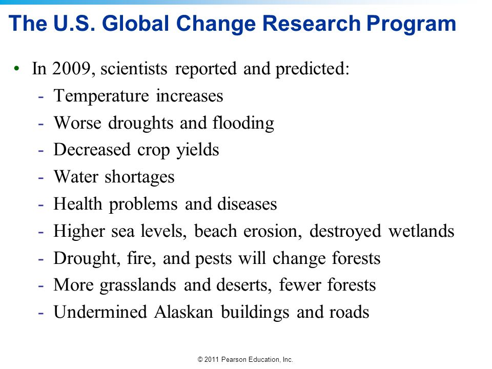 The U.S. Global Change Research Program