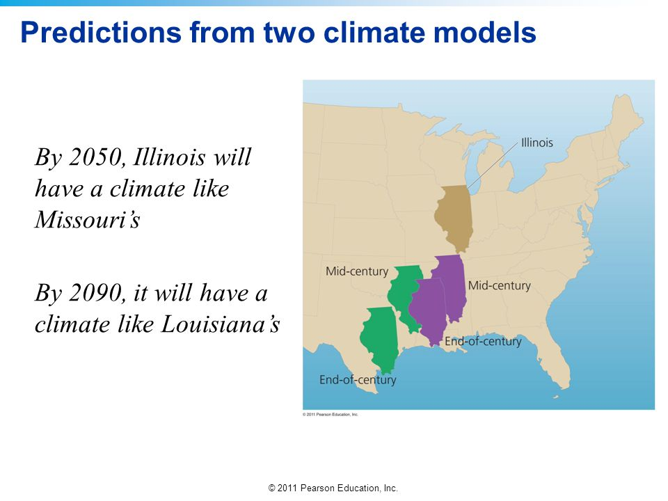 Predictions from two climate models