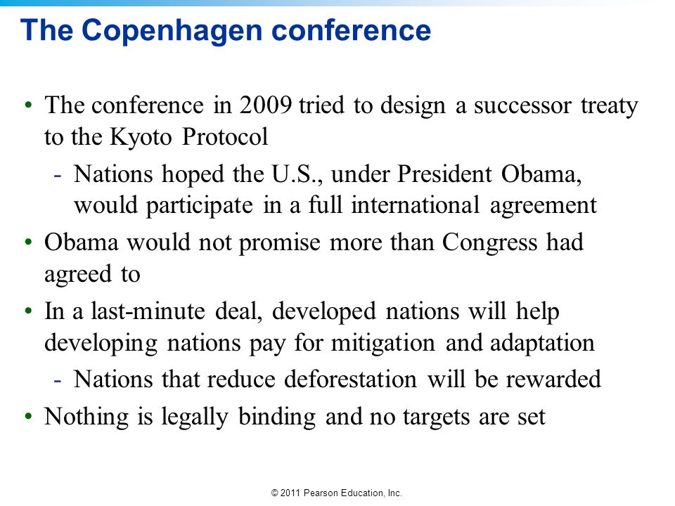 The Copenhagen conference