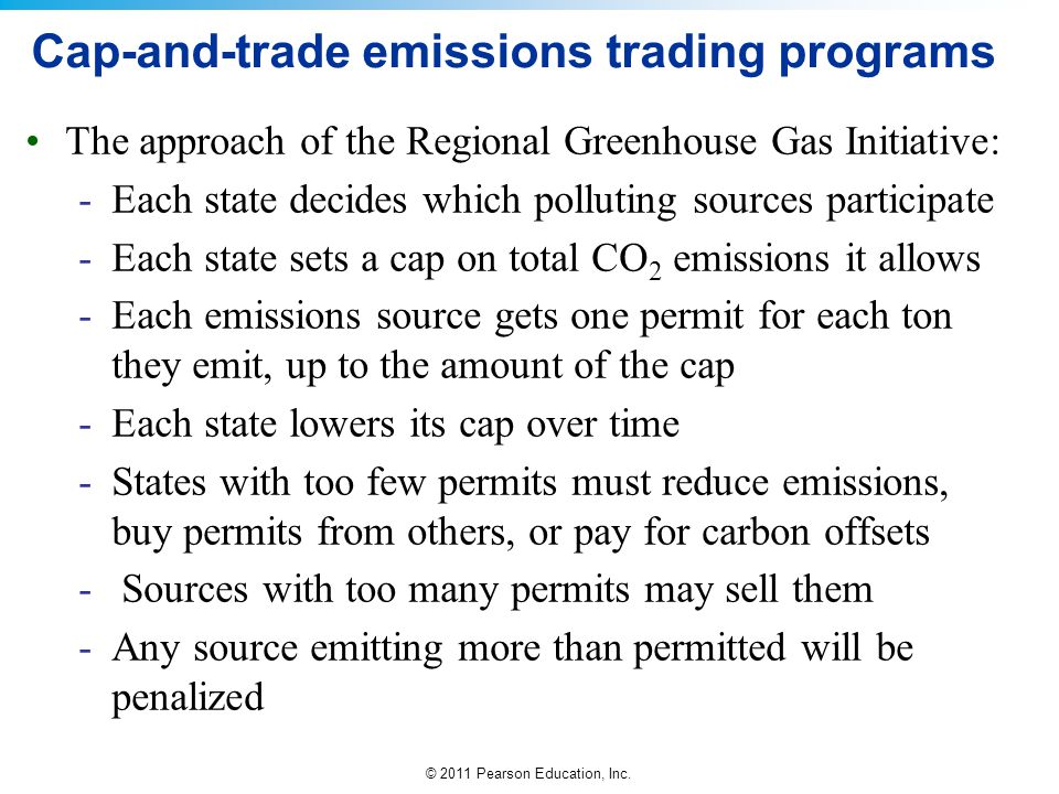Cap-and-trade emissions trading programs