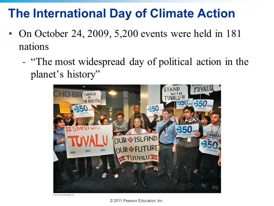 The International Day of Climate Action
