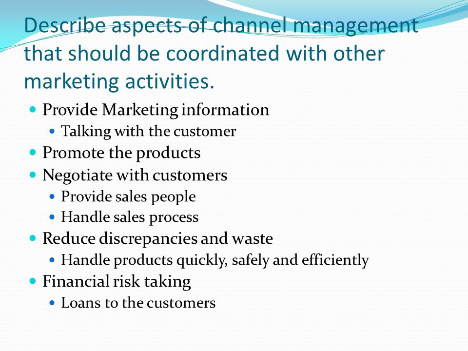 4.00 Channel mgt, Selling promotion and Economic trends - ppt download