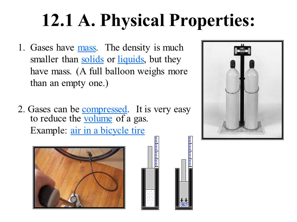 12.1 A. Physical Properties: