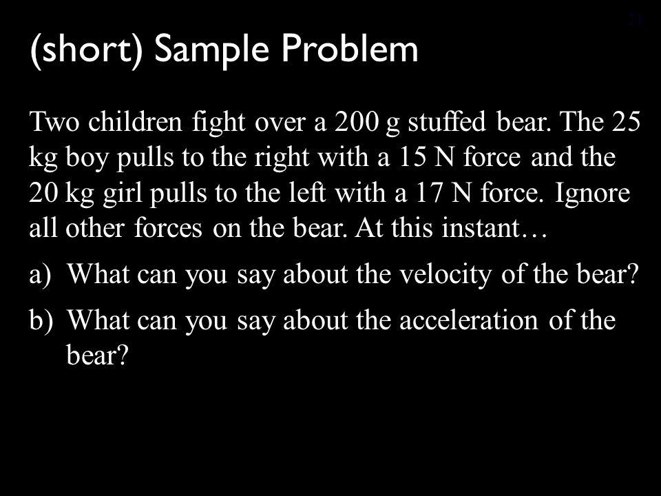 (short) Sample Problem
