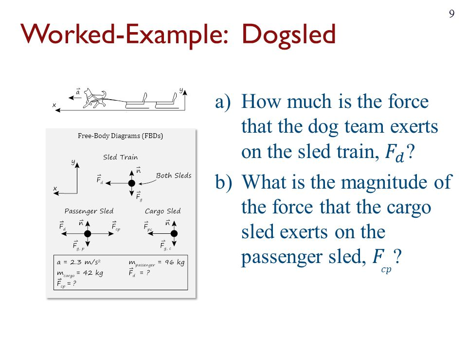 Worked-Example: Dogsled