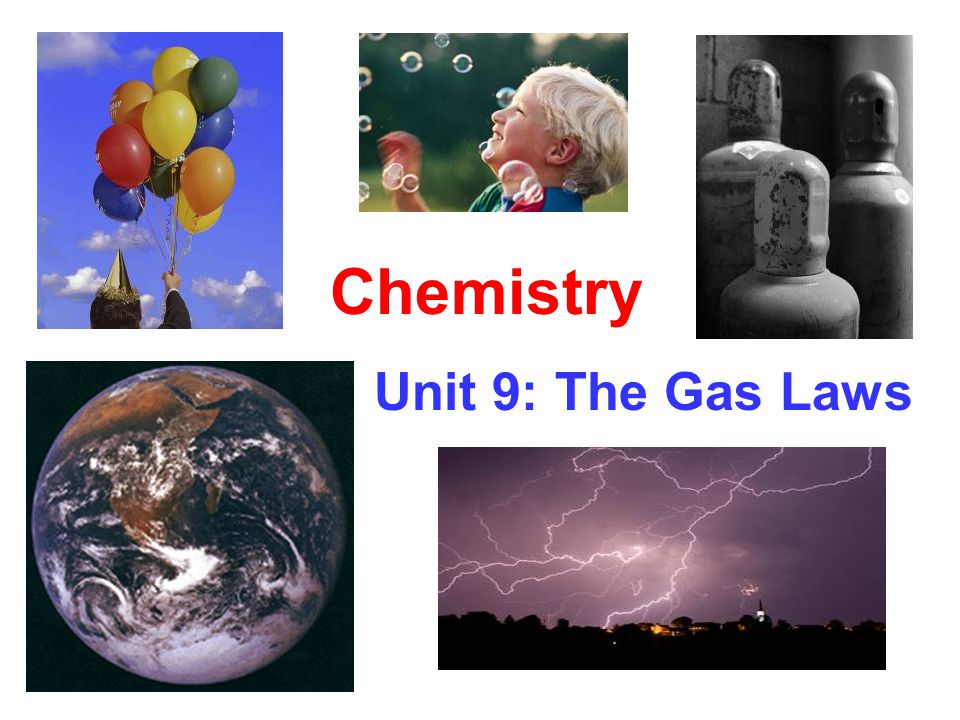 Chemistry Unit 9: The Gas Laws