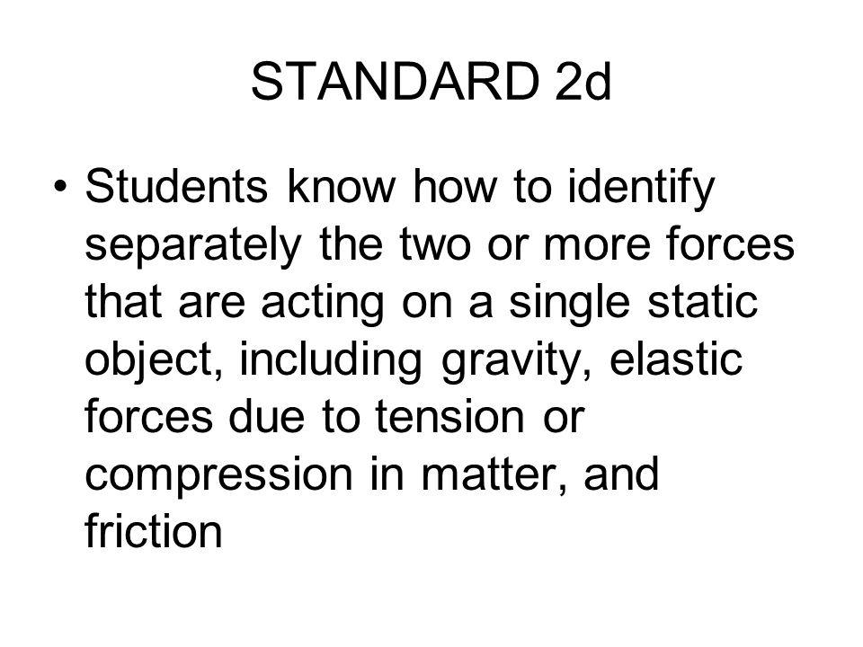 STANDARD 2d