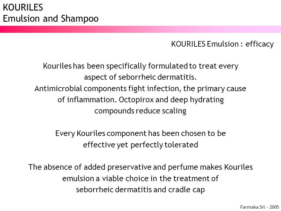 KOURILES Emulsion : efficacy