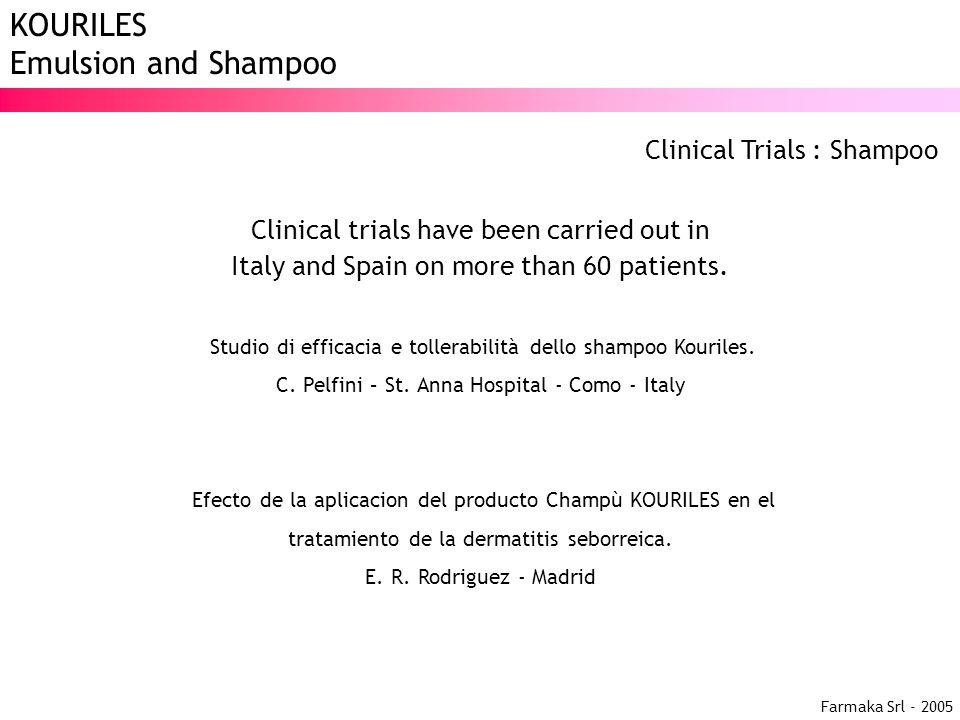 Clinical Trials : Shampoo