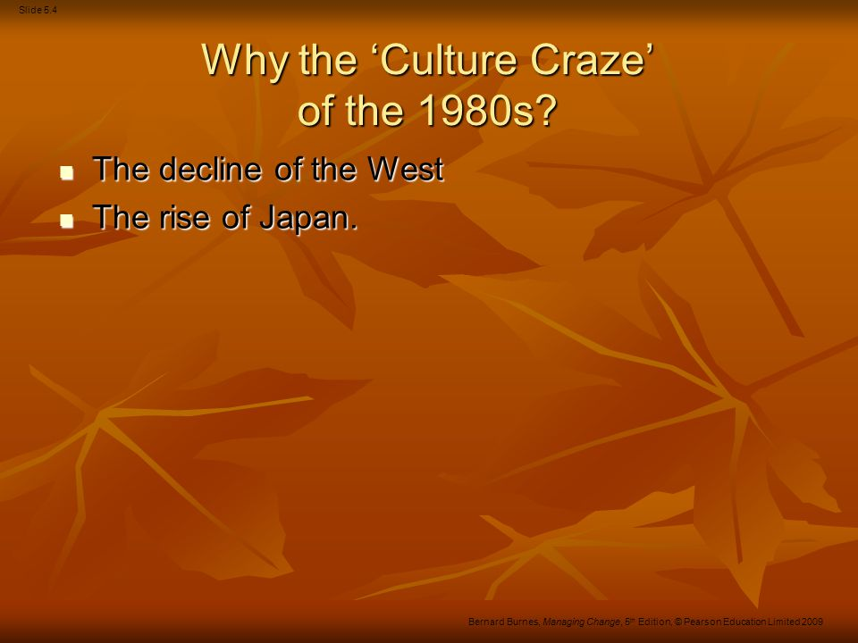 Why the 'Culture Craze' of the 1980s