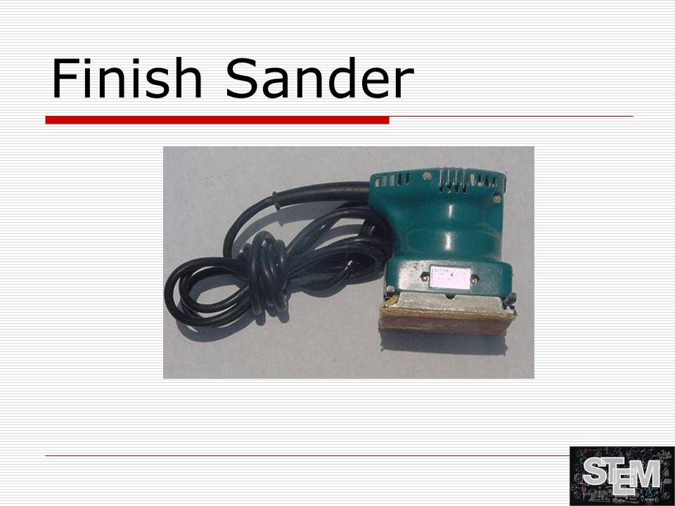 Finish Sander