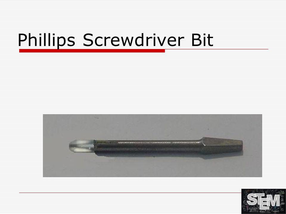 Phillips Screwdriver Bit