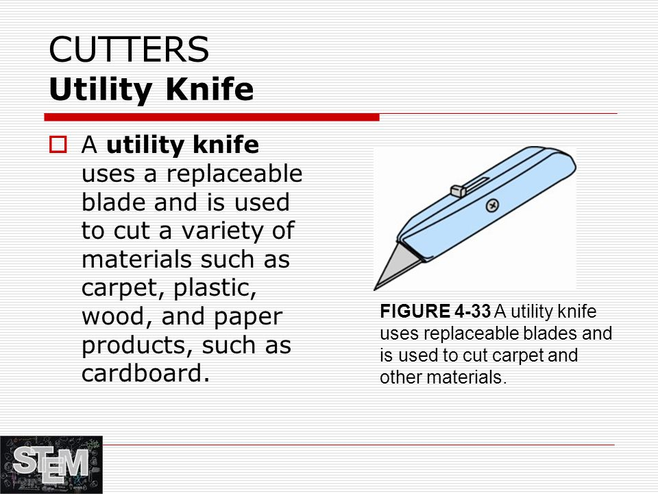 CUTTERS Utility Knife