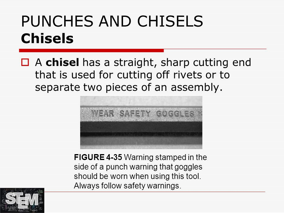 PUNCHES AND CHISELS Chisels