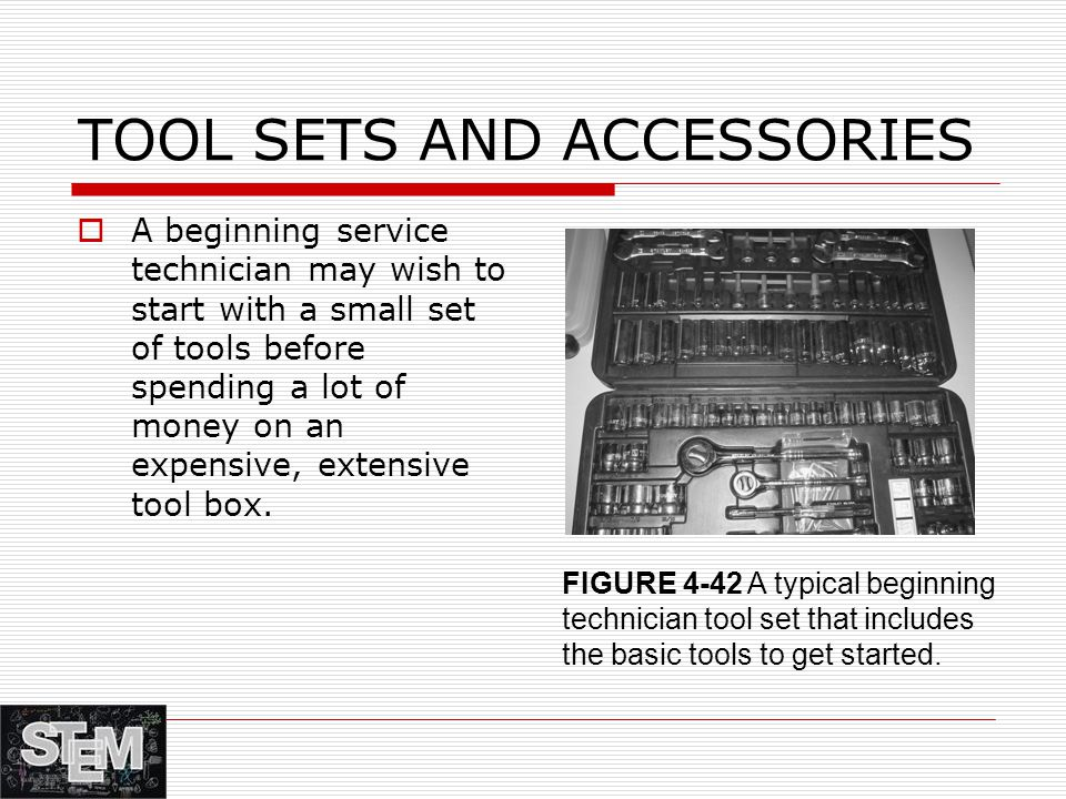 TOOL SETS AND ACCESSORIES