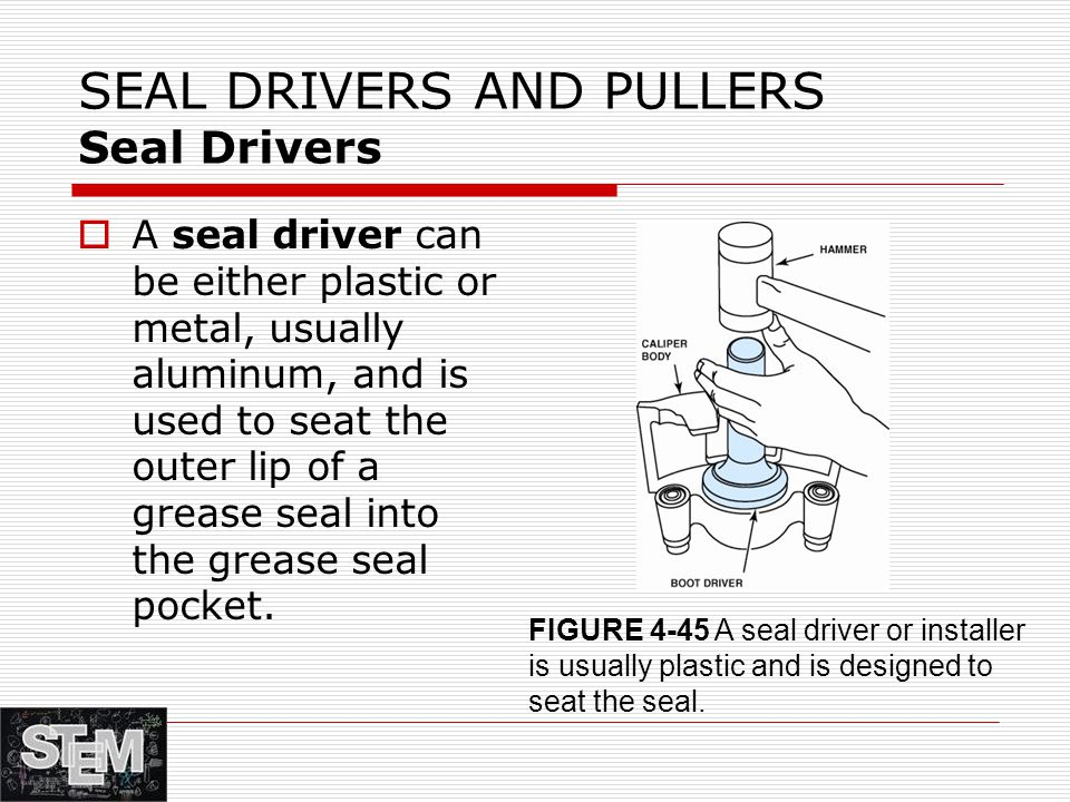 SEAL DRIVERS AND PULLERS Seal Drivers