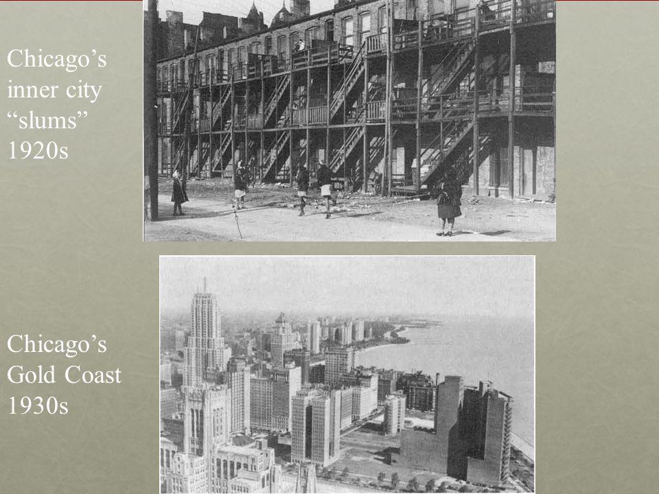 Chicago's inner city slums 1920s