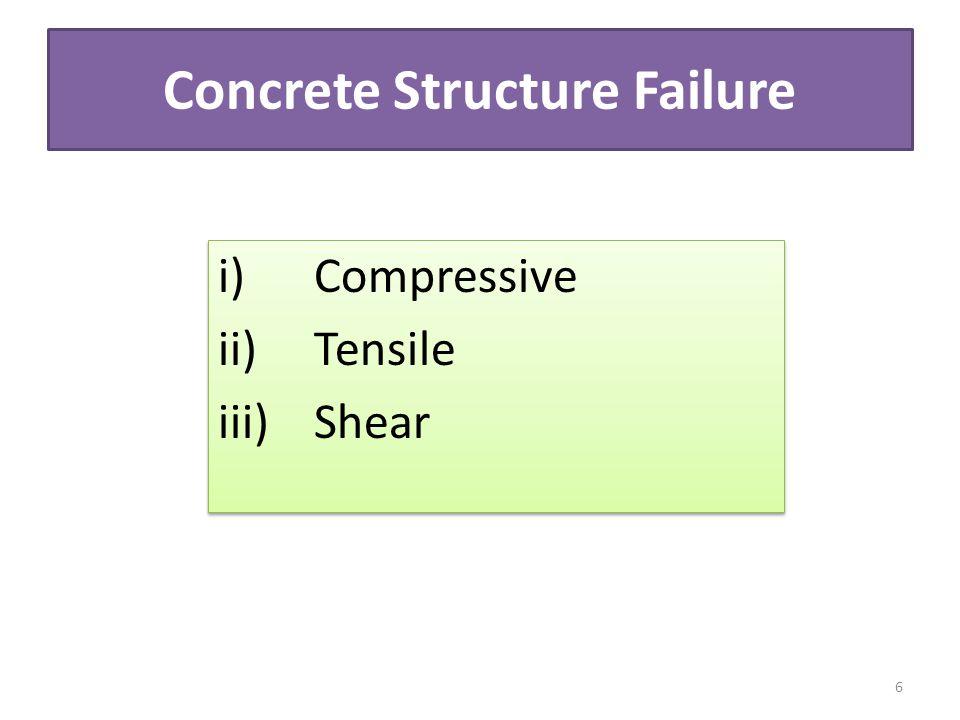 Concrete Structure Failure