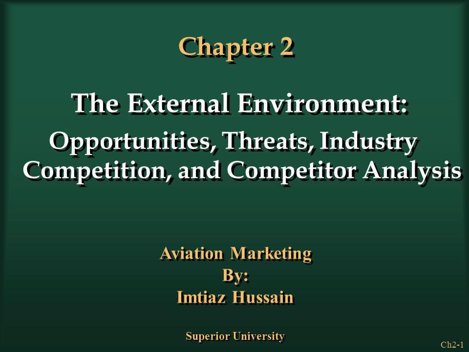 Chapter 2 The External Environment:
