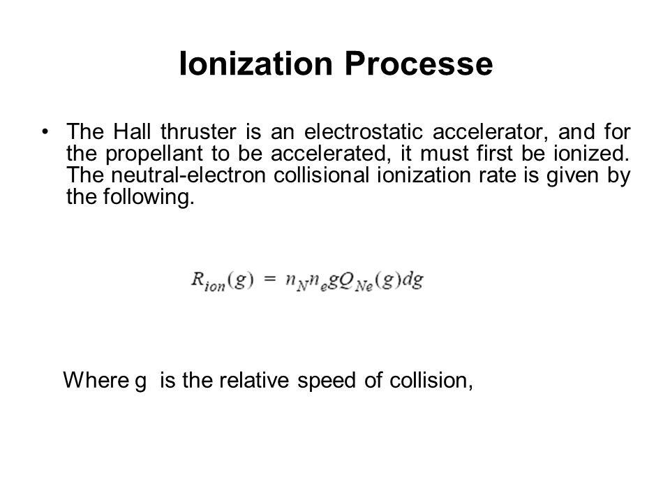 Ionization Processe