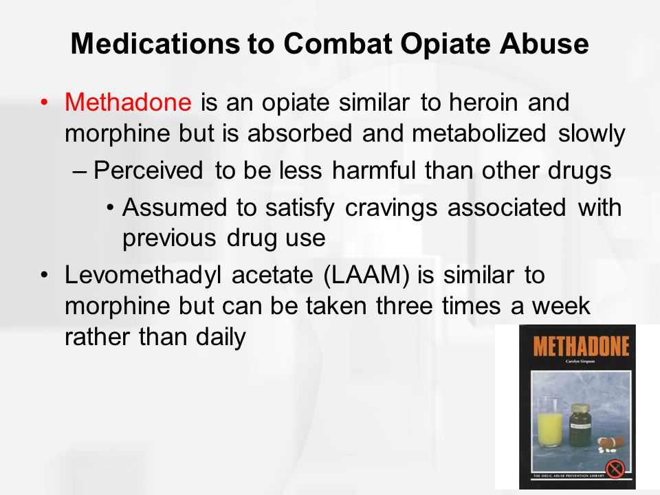 Medications to Combat Opiate Abuse