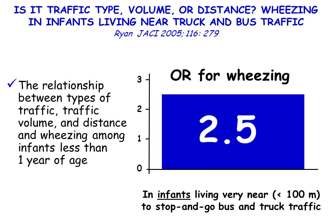 IS IT TRAFFIC TYPE, VOLUME, OR DISTANCE