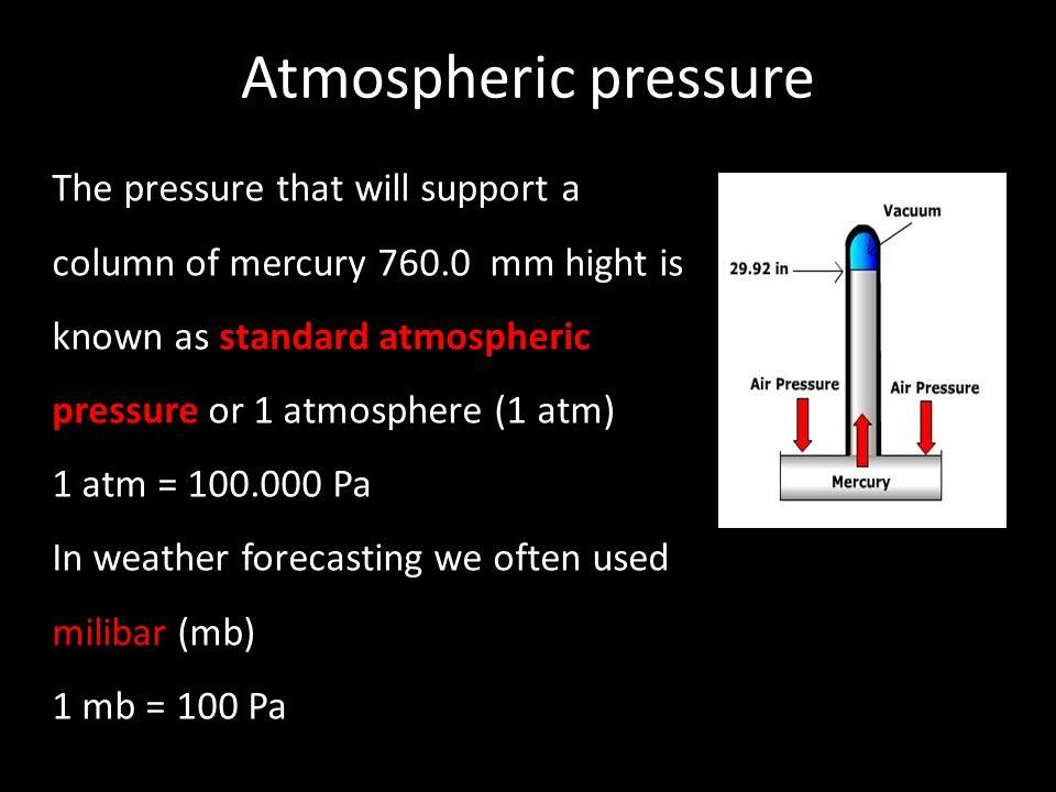 Atmospheric pressure