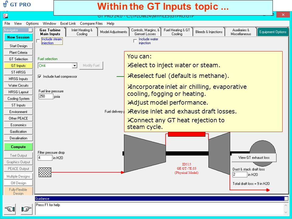 Within the GT Inputs topic ...