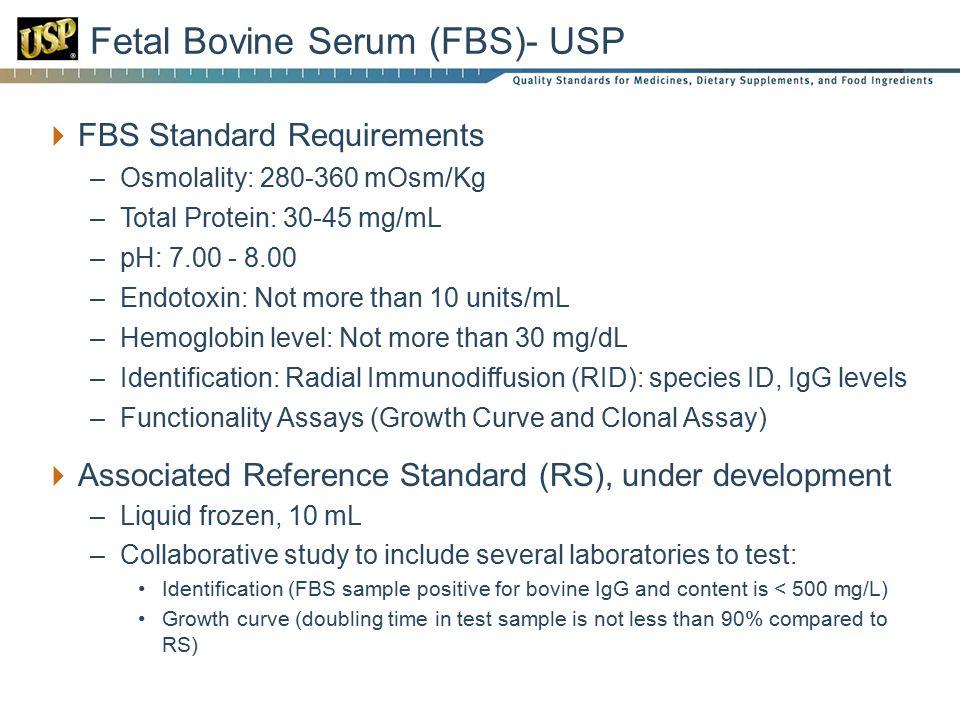 Fetal Bovine Serum (FBS)- USP
