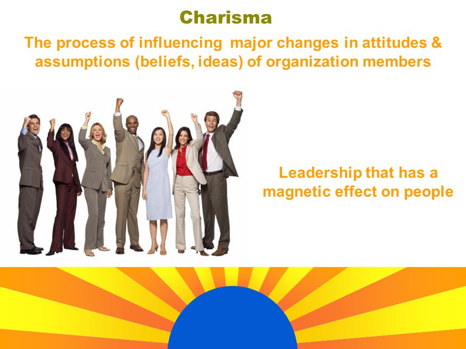 Leadership that has a magnetic effect on people