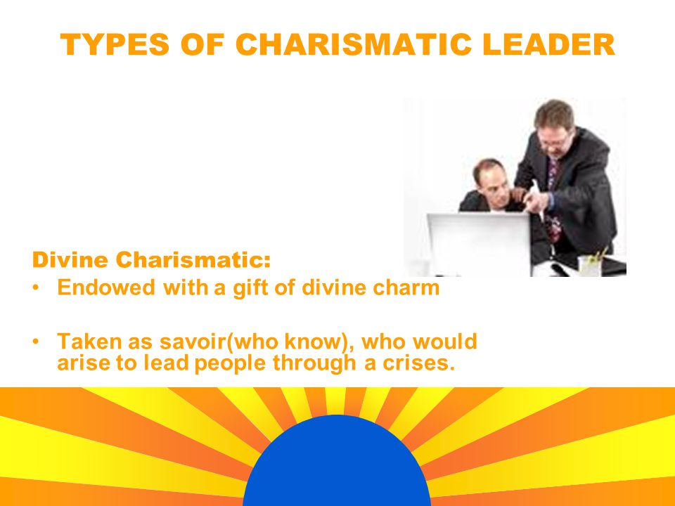 TYPES OF CHARISMATIC LEADER
