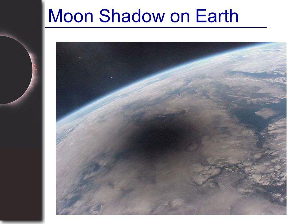 Moon Shadow on Earth