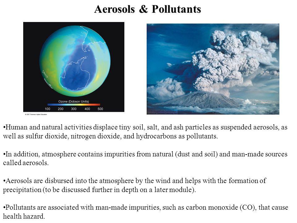 Aerosols & Pollutants