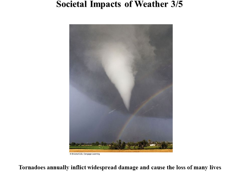 Societal Impacts of Weather 3/5