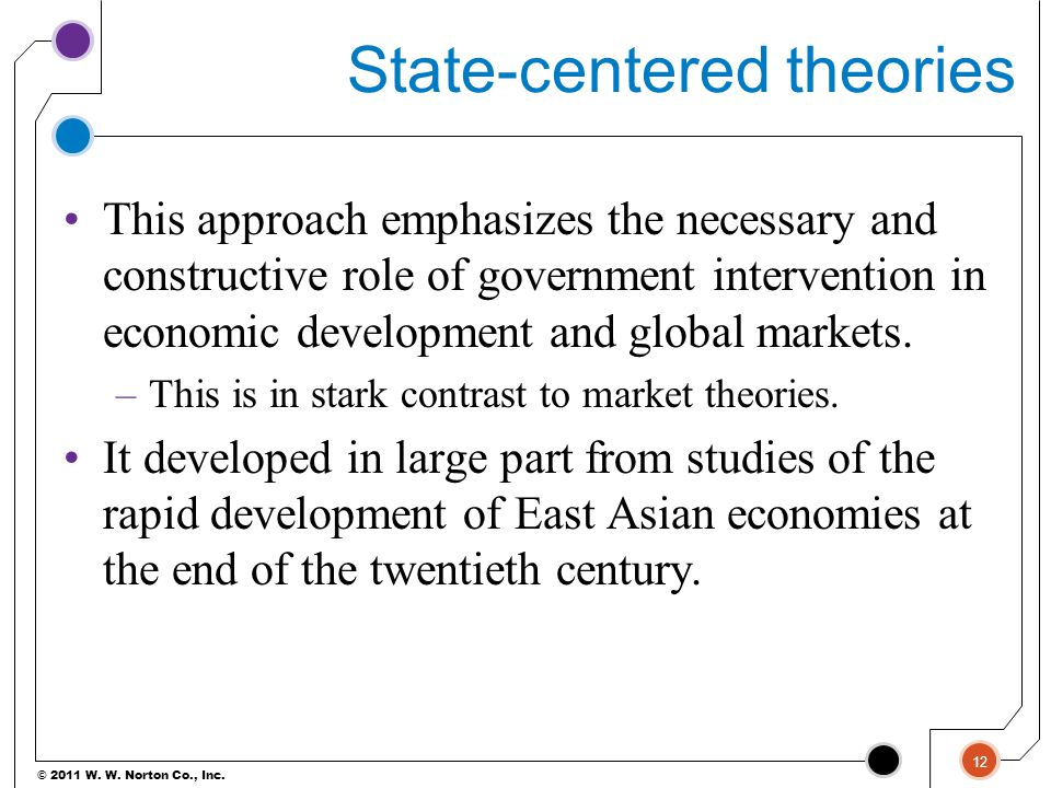 State-centered theories