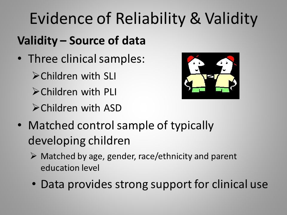 parent child relationship inventory reliability and validity examples