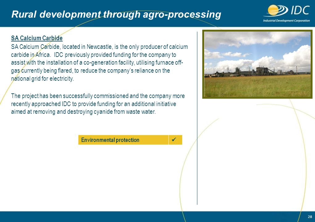 Rural development through agro-processing
