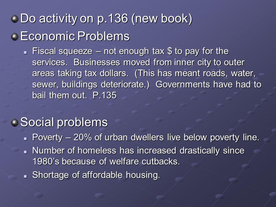 Do activity on p.136 (new book) Economic Problems