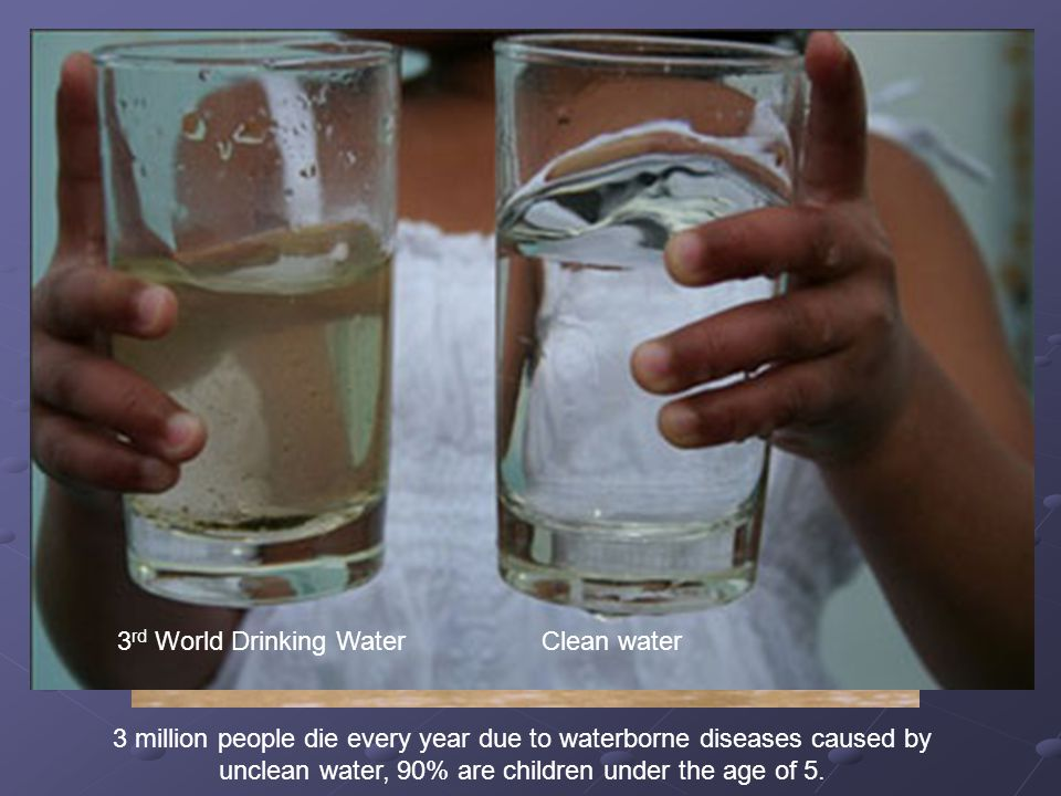 3rd World Drinking Water Clean water