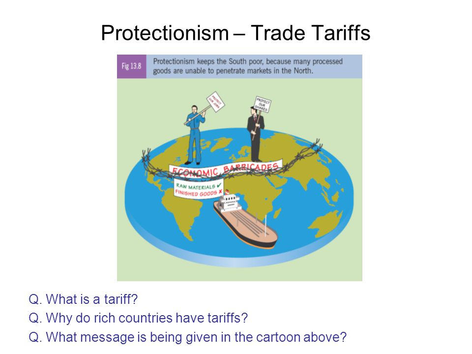 Protectionism – Trade Tariffs