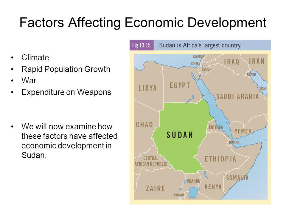 Factors Affecting Economic Development