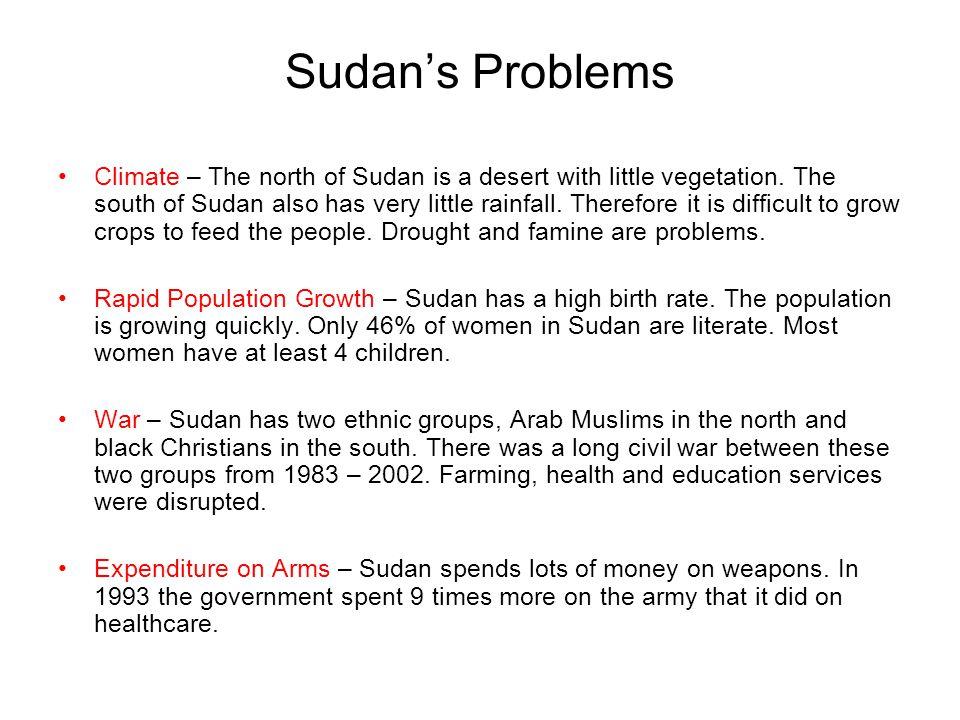 Sudan's Problems
