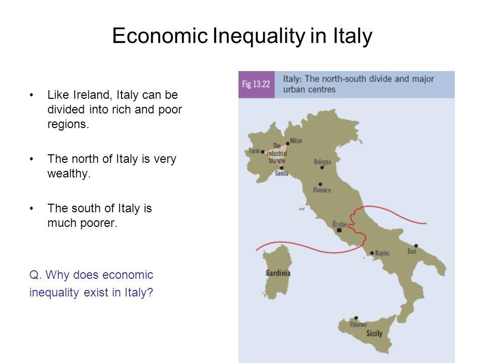 Economic Inequality in Italy