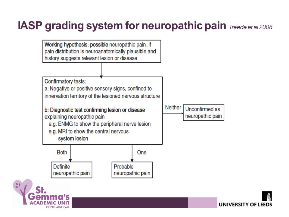 IASP grading system for neuropathic pain Treede et al 2008