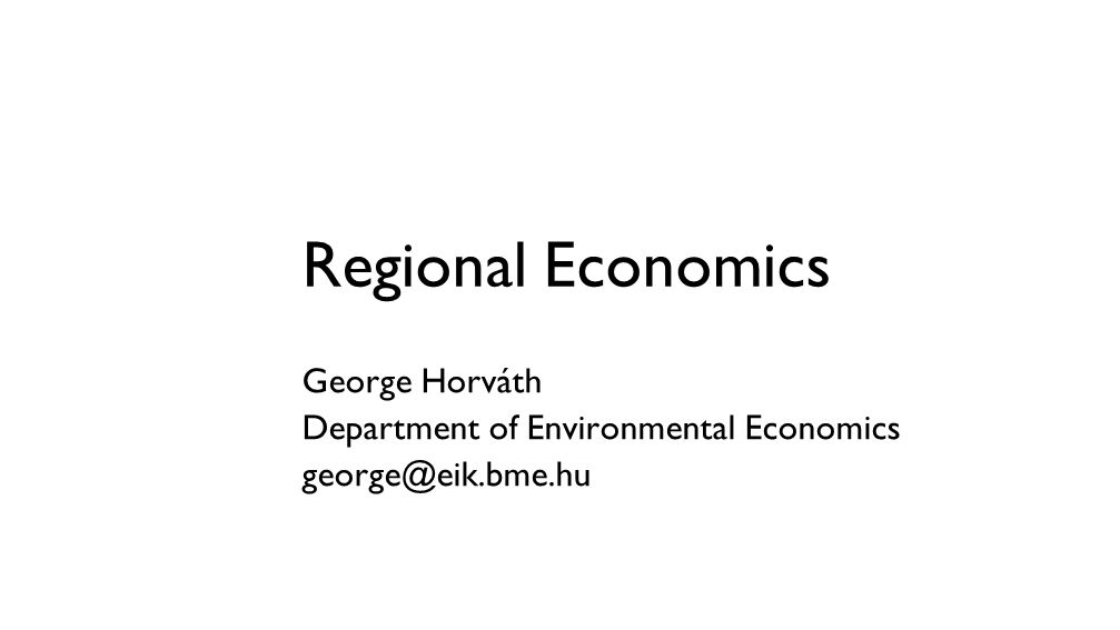 The theory of regional development (regional macroeconomics)