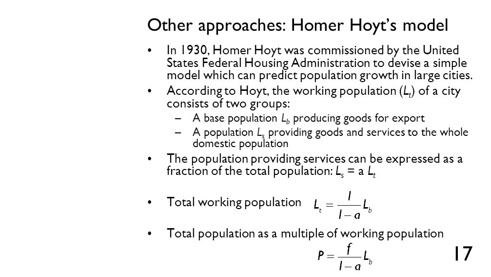 Harrod-Domar model of importing regions